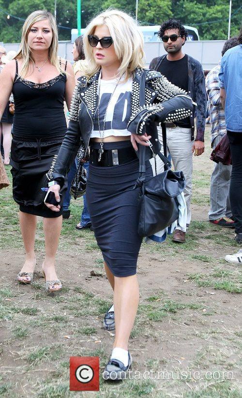 Kelly Osbourne Wireless Festival held at Hyde Park...
