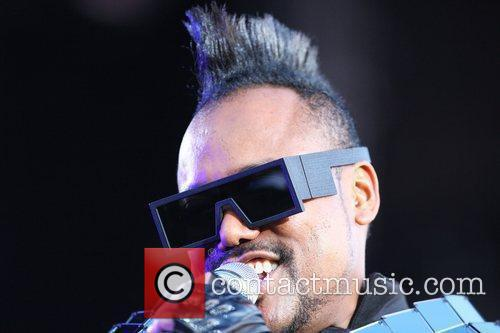 apl.de.ap of The Black Eyed Peas performs Wireless...