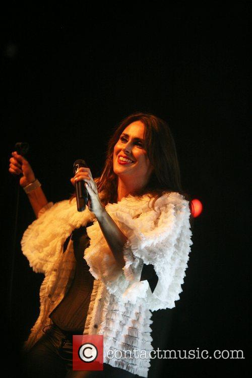 Sharon Den Adel of dutch band, Within Temptation...