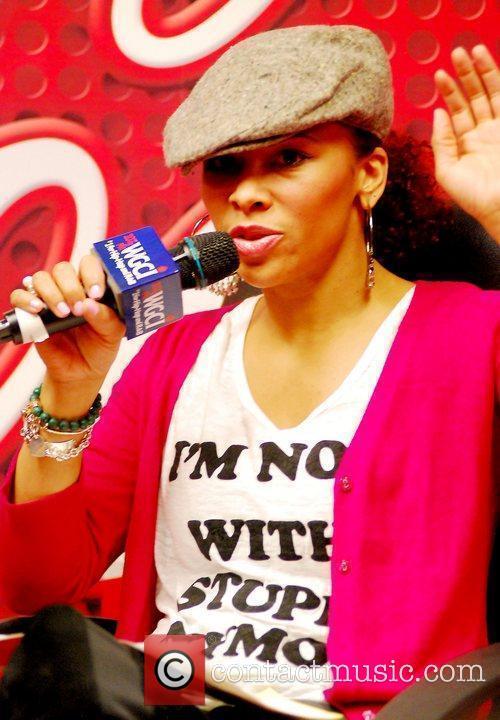 Consuella Williams Rapper Wiz Khalifa promoting his latest...