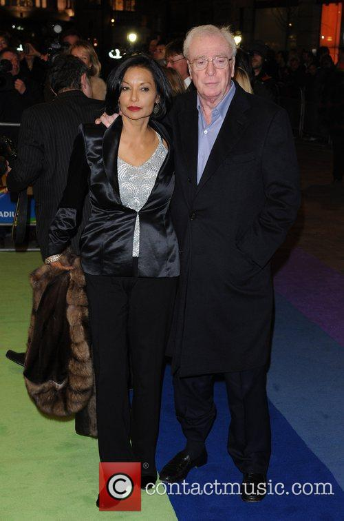 Sir Michael Caine and wife Shakira 'The Wizard...
