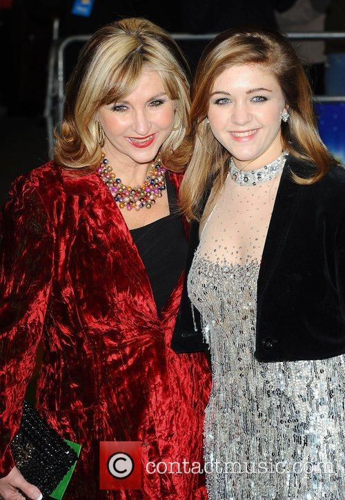 Lesley Garrett and daughter at the 'The Wizard...
