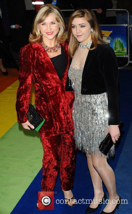 Lesley Garret and daughter at the 'The Wizard...