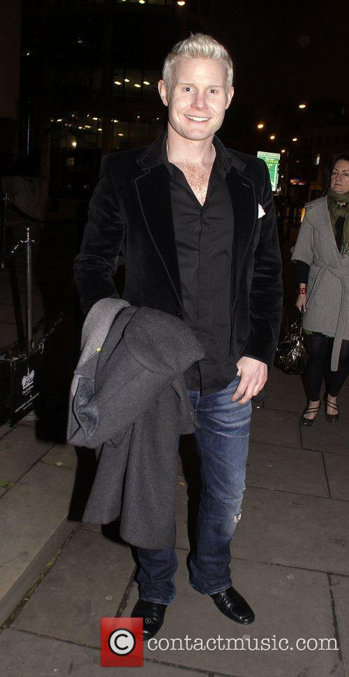Rhydian Roberts The Wizard of Oz' press night...