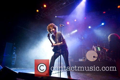 Andrew Stockdale of Wolfmother performing live at the...