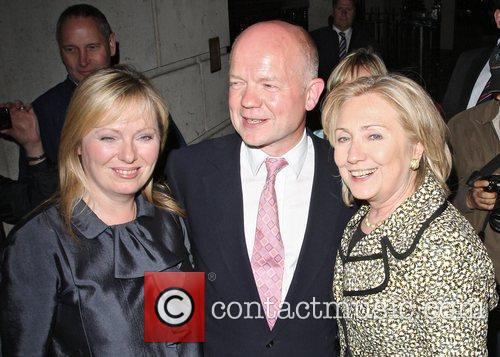 Hillary Clinton and William Hague 1