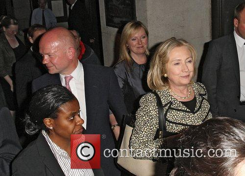 Hillary Clinton and William Hague 7