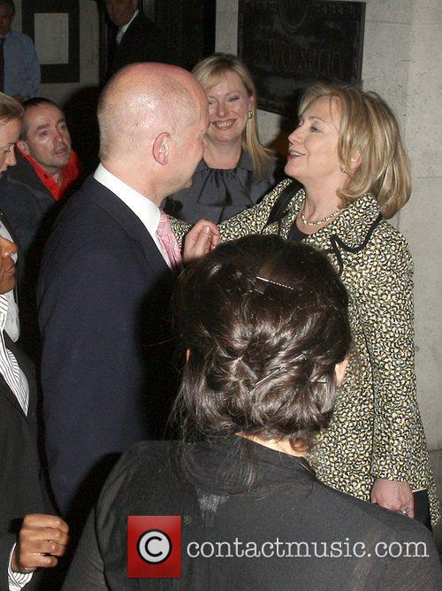 Hillary Clinton and William Hague 6