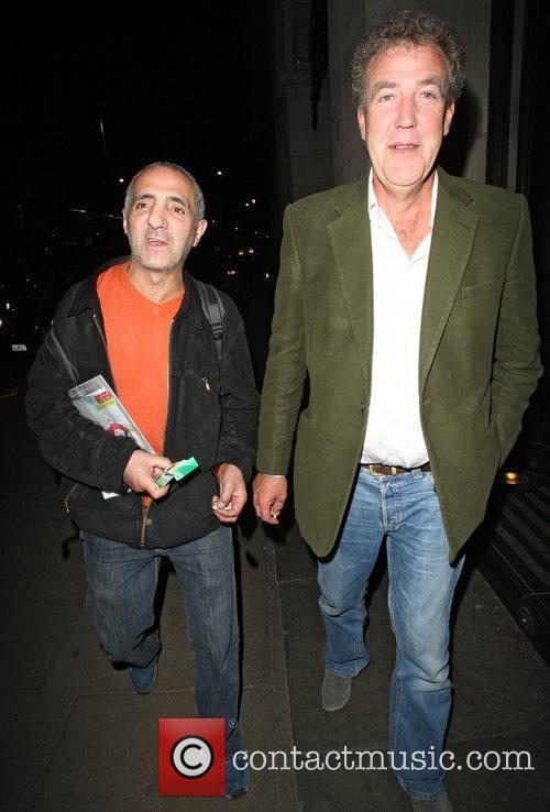 Jeremy Clarkson outside the Wosley trying to have...