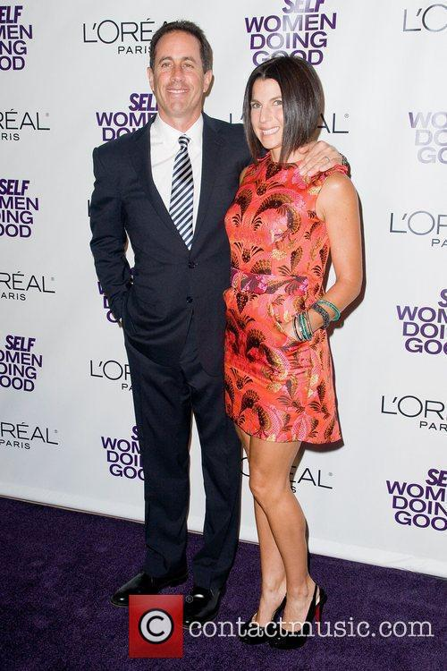 Jerry Seinfeld and Jessica Seinfeld at the Women...