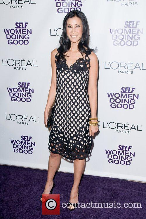 Lisa Ling at the Women Doing Good Awards...