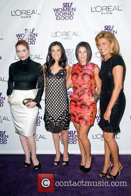 Christina Hendricks, Hoda Kotb, Lisa Ling and Seinfeld 9