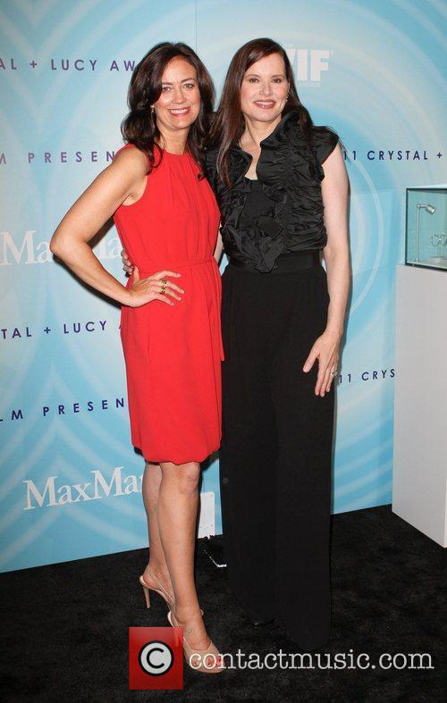 Jane Fleming and Geena Davis  The 2011...