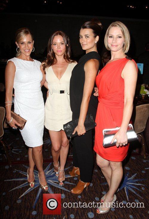 Julie Benz, Cote de Pablo, Meredith Monroe and Rose McGowan 1