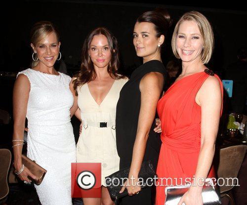 Julie Benz, Cote de Pablo, Meredith Monroe and Rose McGowan 2