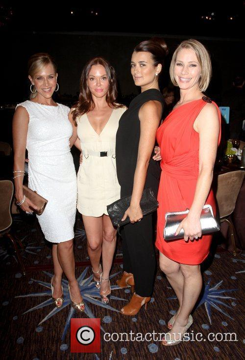 Julie Benz, Cote de Pablo, Meredith Monroe and Rose McGowan 3