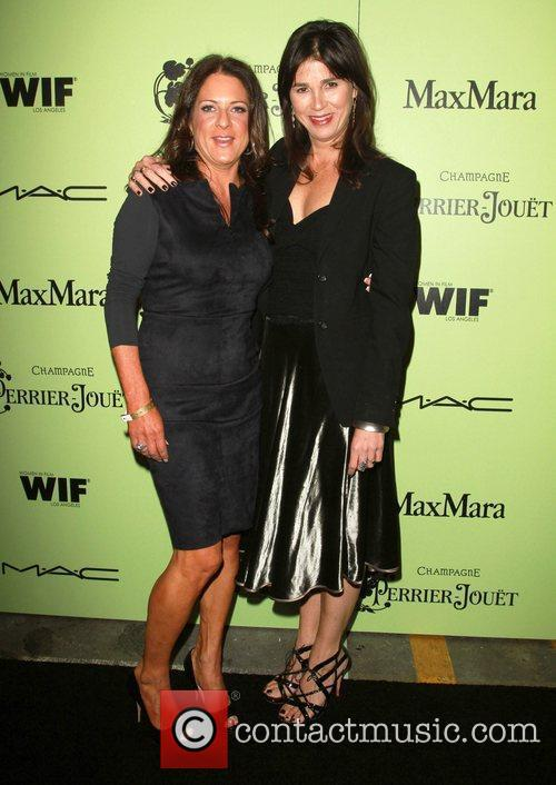 Women in Film President Cathy Schulman and guest...