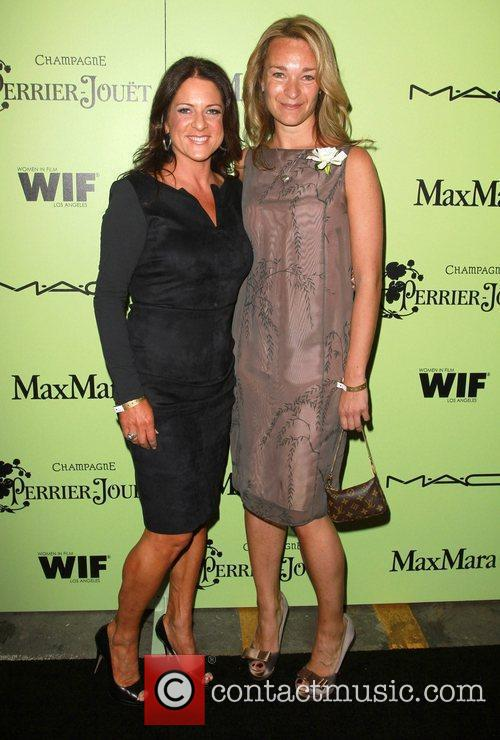 Women in Film President Cathy Schulman and Celine...