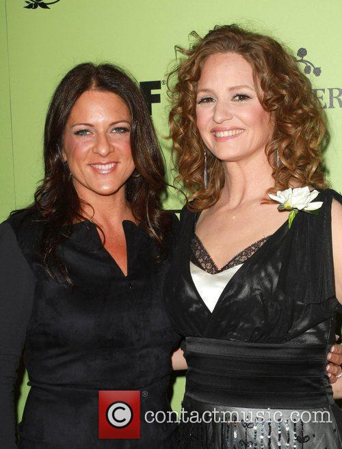 Women in Film President Cathy Schulman and Melissa...