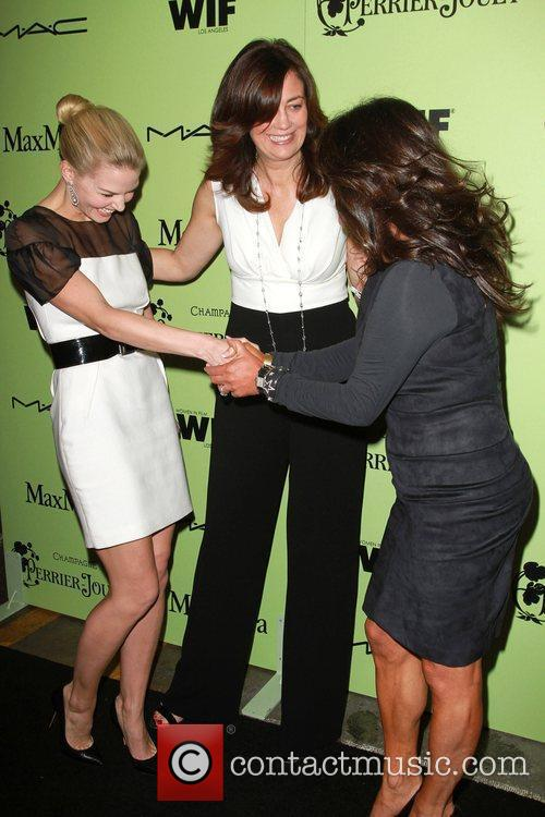 Jennifer Morrison, WIF President Emeritus Jane Fleming, Women...