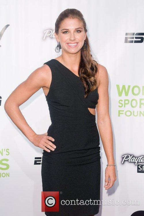 Alex Morgan Annual Salute to Women in Sports...