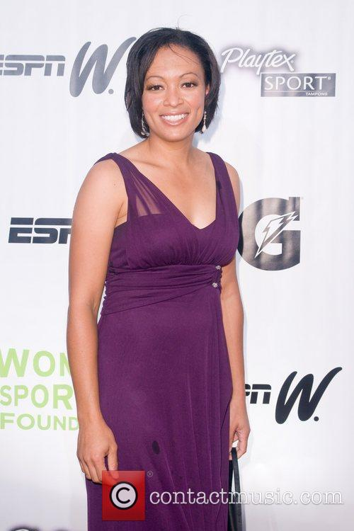 Angela Hucles Annual Salute to Women in Sports...