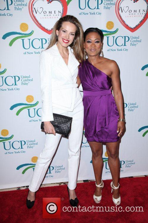Petra Nemcova and Robin Givens attends the 10th...