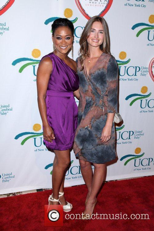 Robin Givens and Lauren Bush attends the 10th...