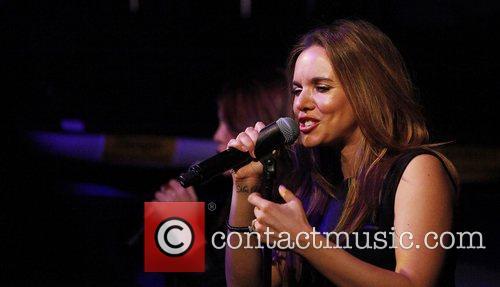 Jodi Albert of band Wonderland performing at The...