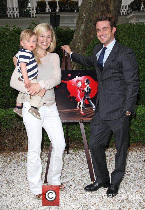 Alison Balsom, with her son Charlie and Jules...