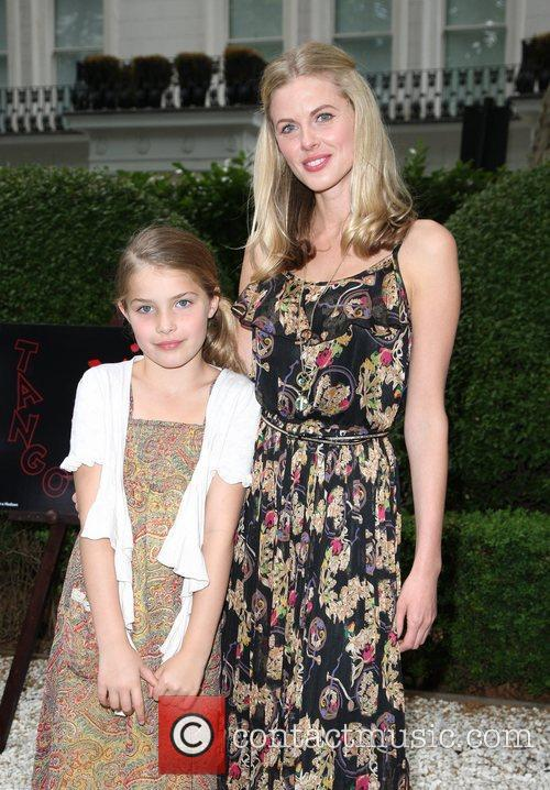 Donna Air and daughter Freya Book launch for...