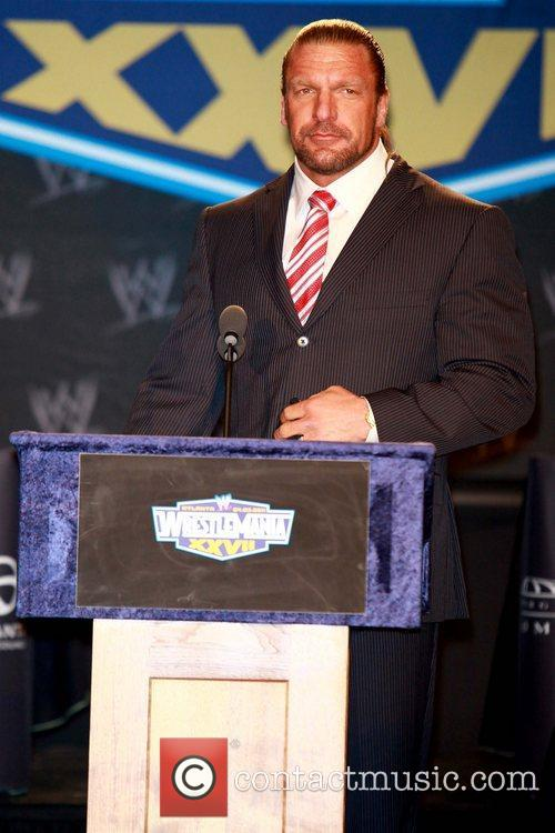 Paul Michael Levesque aka Triple H attends a...