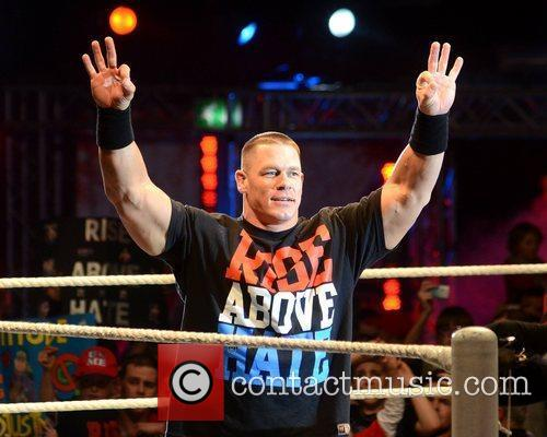 John Cena and O2 Arena 1