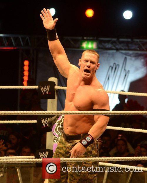 John Cena and O2 Arena 4