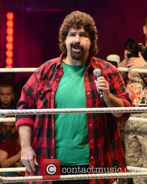 Mick Foley and O2 Arena 2
