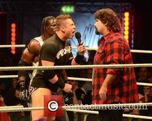 Mick Foley and O2 Arena 1