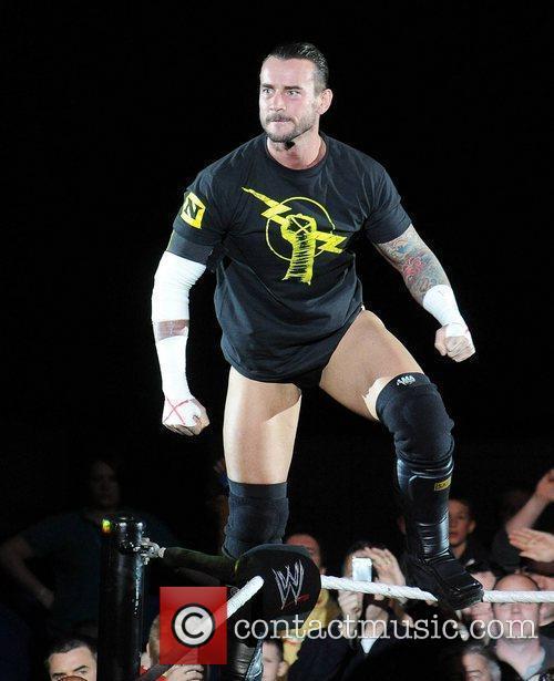 CM Punk WWE RAW Wrestling Superstars at The...
