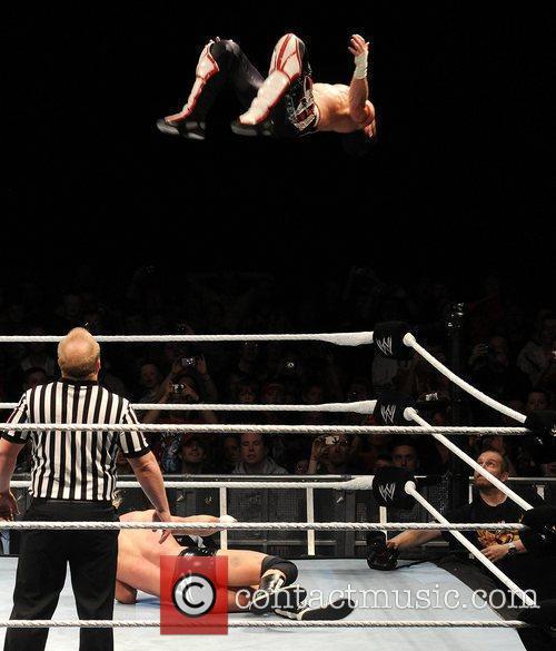 Evan Bourne and Dolph Ziggler WWE RAW Wrestling...