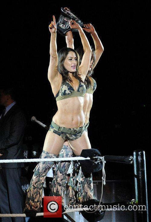 Nikki and Brie Bella WWE RAW Wrestling Superstars...
