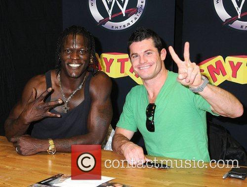 R Truth and Evan Bourne WWE RAW Wrestling...