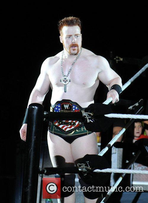 Sheamus WWE RAW Wrestling Superstars at The O2...
