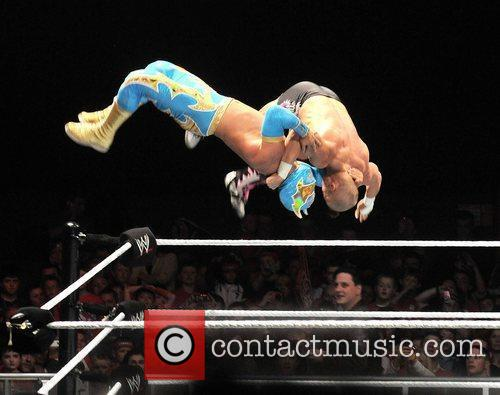 sin cara without mask on. wwe sin cara without mask. wwe