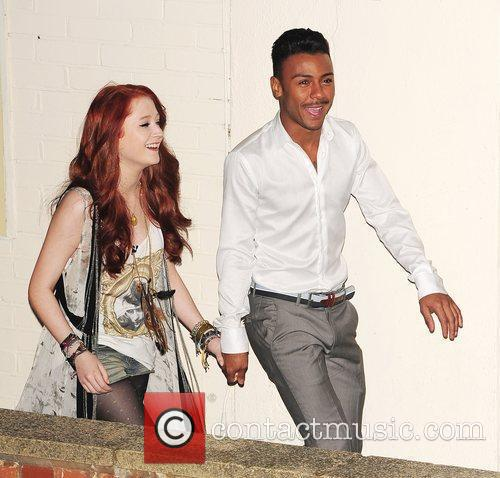 Janet Devil and Marcus Collins of X Factor...