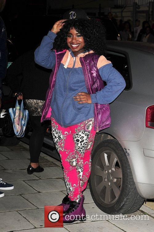 Misha B of X Factor  at Fountain...