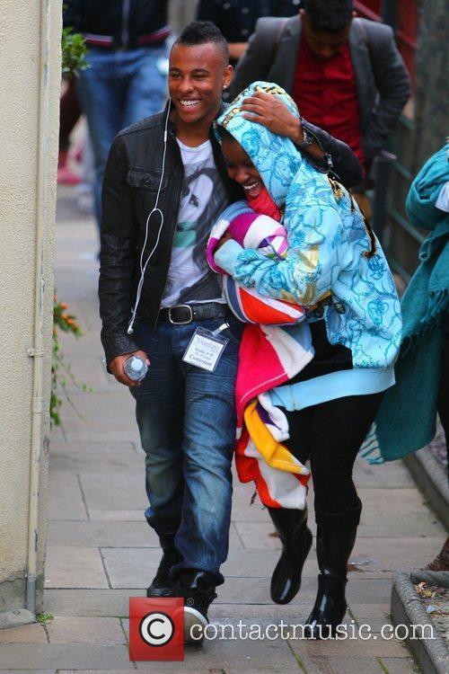'X Factor' finalists Ashford Campbell and Misha Bryan...