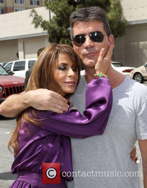 Paula Abdul, Simon Cowell at the 'The X...