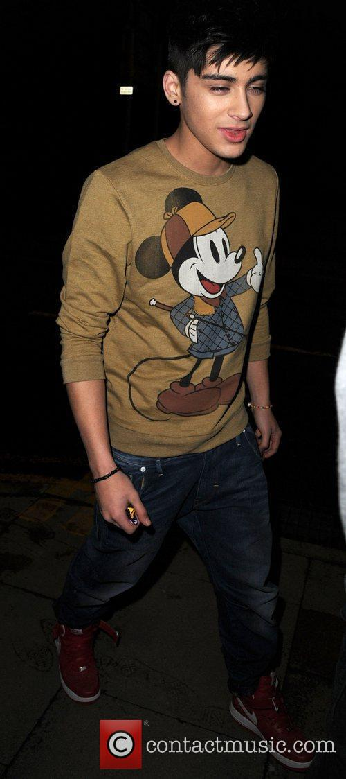 Zain Malik of One Direction arrives at his...