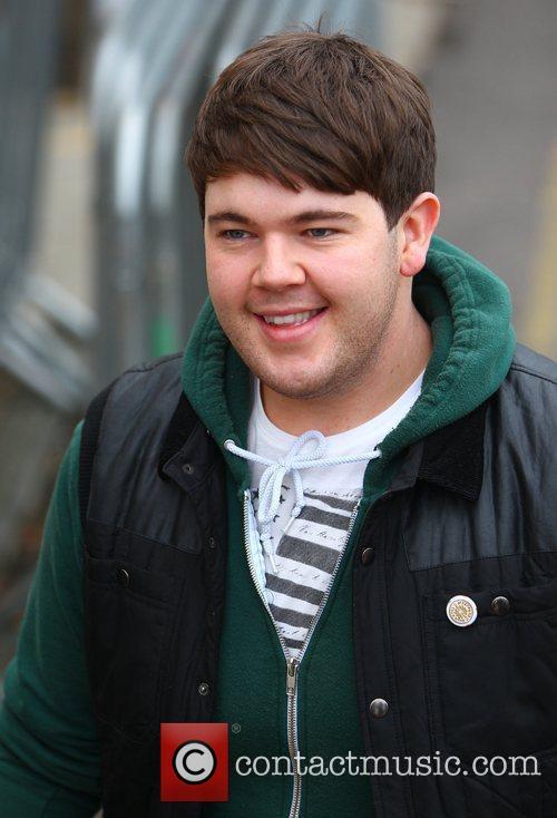 Craig Colton arrives at 'The X Factor' studios...