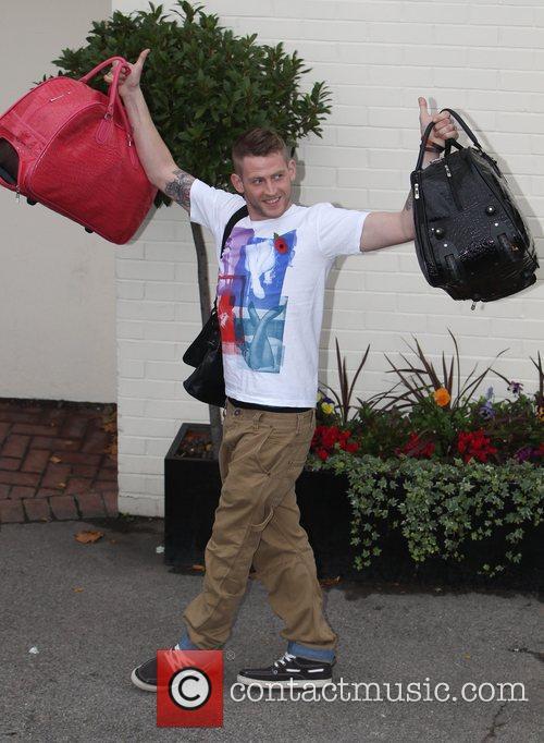 Jonjo Kerr arrives at 'The X Factor' studios...