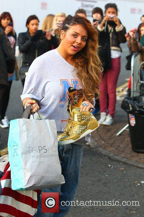 Jesy Nelson of Little Mix 'The X Factor'...